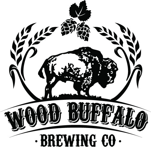 Wood Buffalo Brewing Logo Black